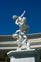 A statue at Caesars in Las Vegas, Nevada, NV, Las Vegas, city, statues at entrance of Caesars Palace and Casino, sunny, Photo nv293-17862..Copyright: Lee Foster, www.fostertravel.com, 510-549-2202,lee@fostertravel.com