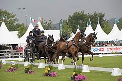 De Ronde Koos, (NED), Alino, Palero, Santana, Ulano<br /> CHIO Aachen 2016<br /> © Hippo Foto - Dirk Caremans<br /> 13/07/16