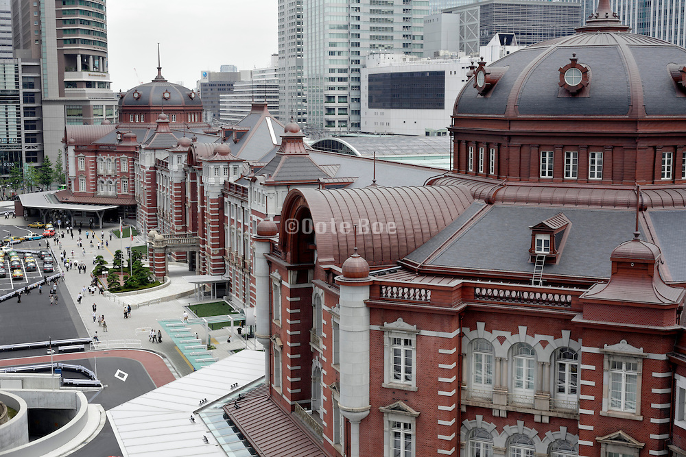 renovated Tokyo Station Japan