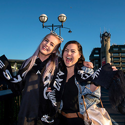 Fans arrive the Rugby Championship match between the New Zealand All Blacks and Argentina Pumas at Trafalgar Park in Nelson, New Zealand on Saturday, 8 September 2018. Photo: Dave Lintott / lintottphoto.co.nz