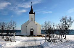 NORWAY FINNMARK 25MAR07 - Church in Kistrand, Finnmark, Norway's northermost Arctic province...jre/Photo by Jiri Rezac..© Jiri Rezac 2007..Contact: +44 (0) 7050 110 417.Mobile:  +44 (0) 7801 337 683.Office:  +44 (0) 20 8968 9635..Email:   jiri@jirirezac.com.Web:    www.jirirezac.com..© All images Jiri Rezac 2007 - All rights reserved.