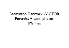 20170906 jpg files - VICTOR - Badminton Danmark team and portrait photos