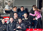 Phil Neville during the EFL Sky Bet League 2 match between Salford City and Scunthorpe United at the Peninsula Stadium, Salford, United Kingdom on 26 October 2019.
