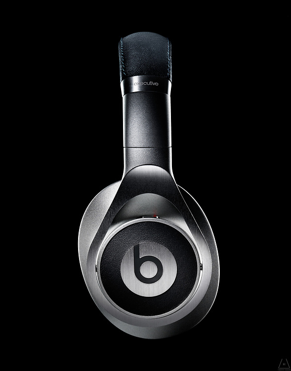 A profile shot of Beats by Dre wireless headphones, is a display of when form and technology meet