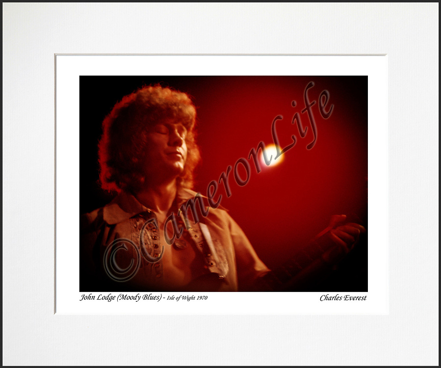 John Lodge - An affordable archival quality matted print ready for framing at home.<br />  Ideal as a gift or for collectors to cherish, printed on Fuji Crystal Archive photographic paper set in a neutral mat (all mounting materials are acid free conservation grade). <br />  The image (approx 6&quot;x8&quot;) sits within a titled border. The outer dimensions of the mat are approx 10&quot;x12&quot;