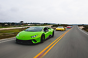 August 22-26, 2018. Monterey Car week. Lamborghini Huracan