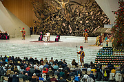 January 03, 2018: Pope Francis delivers his speech during his weekly general audience in Paul VI hall at the Vatican, Rome, Italy.<br /> *** RESTRICTED TO EDITORIAL USE - NO MARKETING NO ADVERTISING CAMPAIGNS ***