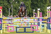 Class Affair ridden by Zara Tindall in the Equi-Trek CCI-4* Show Jumping during the Bramham International Horse Trials 2019 at Bramham Park, Bramham, United Kingdom on 9 June 2019.