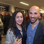 """NLD/Amsterdam/20131128 - Presentie boek """"Bad Boy"""" van Abdelkader Benali, en partner"""