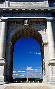 Image of the National Memorial Arch at Valley Forge National Historical Park, Pennsylvania, American Northeast