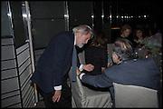 DAVID PUTNAM; FRANCIS FORD COPPOLA, Liberatum Cultural Honour for Francis Ford Coppola<br /> with Bulgari Hotel & Residences, London. 17 November 2014