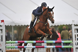 ZARA TINDALL (PHILLIPS) ON DROPS OF BRANDY SHOW JUMPING, Rockingham International Horse Trials, Rockingham Castle  Saturday  21st May 2016<br /> Photo:Mike Capps