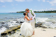 Brittnie & Brian's Kona Beach Wedding