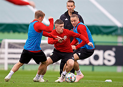CARDIFF, WALES - Monday, October 8, 2018: Wales' Declan John during a training session at the Vale Resort ahead of the International Friendly match between Wales and Spain. (Pic by David Rawcliffe/Propaganda)