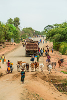 Scene along the road near Konso, Ethiopia.