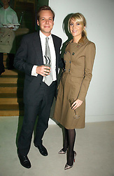 JAMIE ALLSOPP and LADY EMILY COMPTON at an exhibition of David Hockney portraits at the National Portrait Gallery sponsored by Burberry on 11th October 2006.<br /><br />NON EXCLUSIVE - WORLD RIGHTS