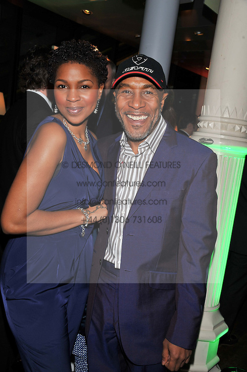PETULA LANGLAIS and DANNY JOHN-JULES at the Motor Sport magazine's 2013 Hall of Fame awards at The Royal Opera House, London on 25th February 2013.