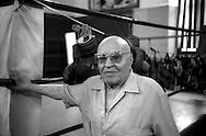 Il maestro Alfredo Richetti, Palestra  Società Pugilistica Noble Art di Nando Pioppini