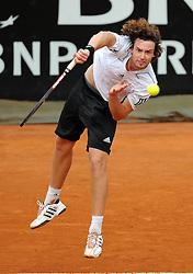 27.04.2010, Foro Italico, Rom, ITA, ATP Masters Turnier Rom im Bild  Ernest Gulbis (LAT)., EXPA Pictures © 2010, PhotoCredit: EXPA/ InsideFoto/ A. Baldassarre / SPORTIDA PHOTO AGENCY