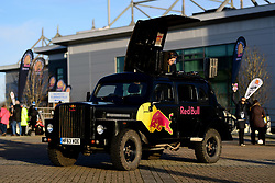 A Red Bull DJ in the Piazza  prior to kick off - Mandatory by-line: Ryan Hiscott/JMP - 18/01/2020 - RUGBY - Sandy Park - Exeter, England - Exeter Chiefs v La Rochelle - Heineken Champions Cup