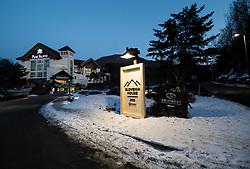 PYEONGCHANG-GUN, SOUTH KOREA - FEBRUARY 08:  Slovenia House ahead of the PyeongChang 2018 Winter Olympic Games on February 8, 2018 in Pyeongchang-gun, South Korea. Photo by Kim Jong-man / Sportida