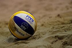 04-01-2020 NED: NK Beach volleyball Indoor, Aalsmeer<br /> Mikasa ball