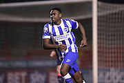 U21 Brighton and Hove Albion's Nathaniel Oseni during the Barclays U21 Premier League match between U21 Brighton and Hove Albion and U21 Newcastle United at the Checkatrade.com Stadium, Crawley, England on 23 March 2016.