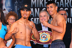January 24, 2014: Mikey Garcia vs Juan Carlos Burgos Weigh-In