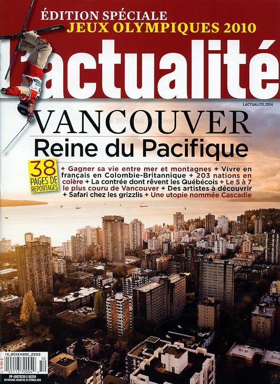 Vancouver for L'actualité magazine