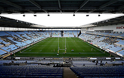 A general view of The Ricoh Arena, home of Wasps, ahead of the Aviva Premiership match with Newcastle Falcons - Mandatory by-line: Robbie Stephenson/JMP - 30/10/2016 - RUGBY - Ricoh Arena - Coventry, England - Wasps v Newcastle Falcons - Aviva Premiership