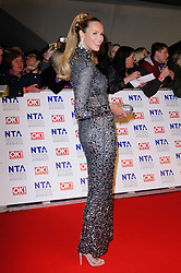 Elle Macpherson  at the National Television Awards held in London on Wednesday, 25th January 2012. Photo by: i-Images
