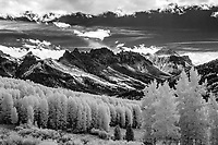 Autumn on Owl Creek Pass, Uncompaghre Range and National Forest; CO