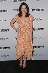 Elizabeth Henstridge bei der 2016 Entertainment Weekly Pre Emmy Party in Los Angeles / 160916<br /> <br /> ***2016 Entertainment Weekly Pre-Emmy Party in Los Angeles, California on September 16, 2016***