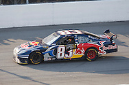 August 16, 2009: 83 Brian Vickers at the end of  the CARFAX 400 race, Michigan International Speedway, Brooklyn, MI.