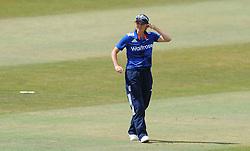 England's Charlotte Edwards looks on. - Photo mandatory by-line: Harry Trump/JMP - Mobile: 07966 386802 - 21/07/15 - SPORT - CRICKET - Women's Ashes - Royal London ODI - England Women v Australia Women - The County Ground, Taunton, England.
