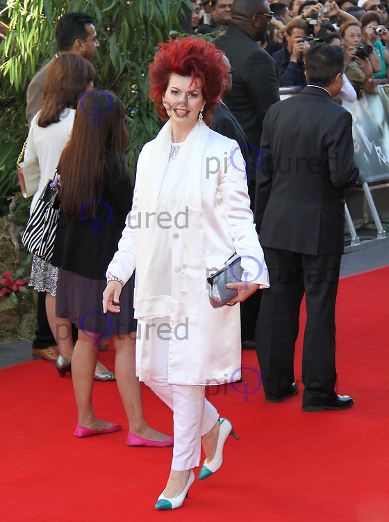 Cleo Rocos RAAVAN World Premiere, BFI Southbank, London, UK, 16 June 2010. For piQtured Sales contact: Ian@piqtured.com Tel: +44(0)791 626 2580 (Picture by Richard Goldschmidt/Piqtured)
