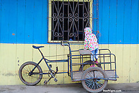 Bicycle & Child Muisne, Ecuador by Star Nigro<br /> <br /> <br /> <br /> © 2019 All artwork is the property of STAR NIGRO.  Reproduction is strictly prohibited.