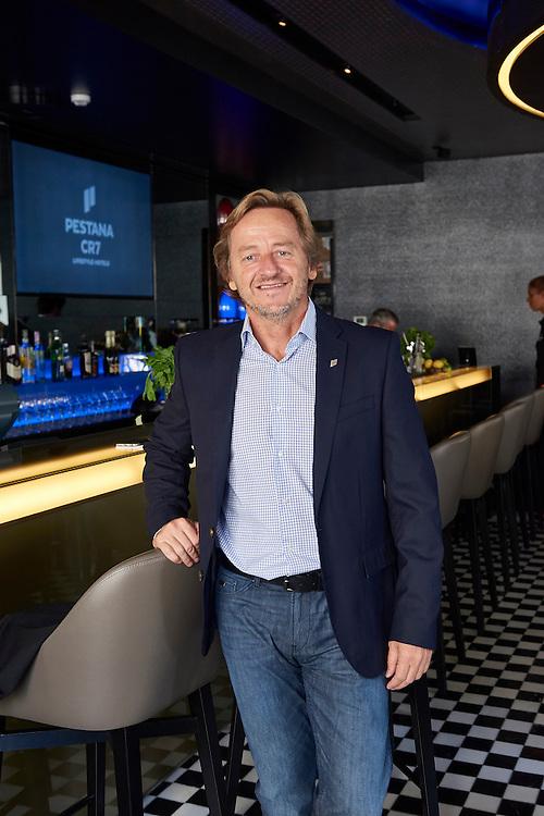 Lisboa, 11/08/2016 - Jos&eacute; Roquette, administrador do grupo hoteleiro Pestana.<br /> Aspectos do novo Hotel CR7 a ser inaugurado na baixa pombalina.(Paulo Alexandrino / Global Imagens)