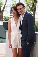 Bérénice Bejo and Michel Hazanavicius at the photo call for the film The Search at the 67th Cannes Film Festival, Wednesday 21st  May 2014, Cannes, France.
