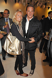 HARRY BECHER and MARTHA WARD at a party to launch jeweller Boodles new store at 178 New Bond Street, London W1 on 26th September 2007.<br />