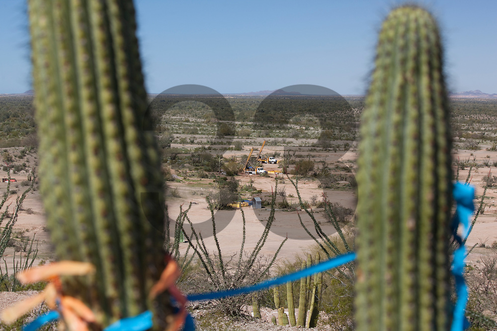 Noche Buena exploration project, part of the Fresnillo plc group. Sonora, Mexico.