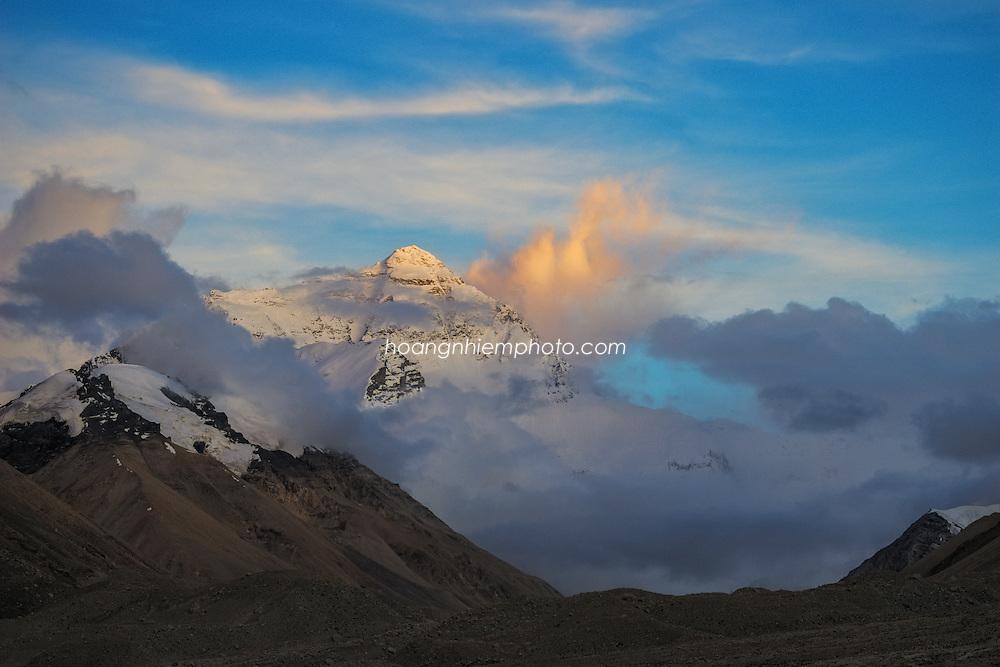 Tibet Images- Landscape-Everest base camp-Qomolangma mount