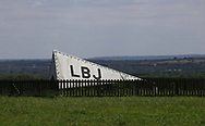 The wind indecater at the small airfield at the LBJ Ranch near Johnson City Texas.<br />