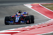 October 19-22, 2017: United States Grand Prix. Sean Gelael, Scuderia Toro Rosso, STR12