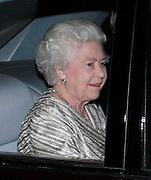 19.NOVEMBER.2012. LONDON<br /> <br /> THE QUEEEN LEAVING THE ROYAL ALBERT HALL AFTER THE ROYAL VARIETY PERFORMANCE.<br /> <br /> BYLINE: EDBIMAGEARCHIVE.CO.UK<br /> <br /> *THIS IMAGE IS STRICTLY FOR UK NEWSPAPERS AND MAGAZINES ONLY*<br /> *FOR WORLD WIDE SALES AND WEB USE PLEASE CONTACT EDBIMAGEARCHIVE - 0208 954 5968*