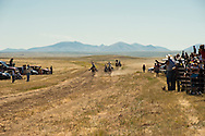 Fort Belknap Indian Reservation, Montana, Milk River Memorial Horse Races, Womens Two Mile Race.
