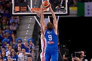 DESCRIZIONE: Torino Turin 2016 FIBA Olympic Qualifying Tournament Finale Final Italia Croazia Italy Croatia<br /> GIOCATORE : Nicolo' Melli<br /> CATEGORIA : controcampo tiro schiacciata<br /> SQUADRA : Italia Italy<br /> EVENTO : 2016 FIBA Olympic Qualifying Tournament <br /> GARA : 2016 FIBA Olympic Qualifying Tournament Finale Final Italia Croazia Italy Croatia<br /> DATA : 09/07/2016<br /> SPORT: Pallacanestro<br /> AUTORE : Agenzia Ciamillo-Castoria/Max.Ceretti <br /> Galleria : 2016 FIBA Olympic Qualifying Tournament <br /> Fotonotizia : Torino Turin 2016 FIBA Olympic Qualifying Tournament Finale Final Italia Croazia Italy Croatia<br /> Predefinita :