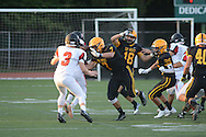 Hatboro Horsham at CB West in the first quarter at Central Bucks West High School Friday August 26, 2016 in Doylestown, Pennsylvania.  (Photo by William Thomas Cain)