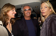 Flavio Briatore.  Dinner at San Lorenzo, Beauchamp Place after Tod's hosts Book signing with Dante Ferretti celebrating the launch of 'Ferretti,- The art of production design' by Dante Ferretti. 19 April 2005.  ONE TIME USE ONLY - DO NOT ARCHIVE  © Copyright Photograph by Dafydd Jones 66 Stockwell Park Rd. London SW9 0DA Tel 020 7733 0108 www.dafjones.com