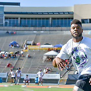 Day Two from the 2nd Annual Jones Brothers football Camp, Sun Bowl Stadium , July 20, 2018 El Paso Texas, Andres Acosta / El Paso Herald-Post